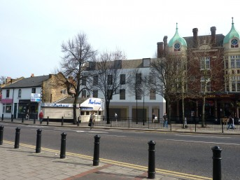 Proposed redevelopment. 157 High Street, Wanstead