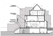 Maresfield Garden - Proposed section