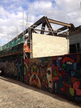 Brick Lane - Construction